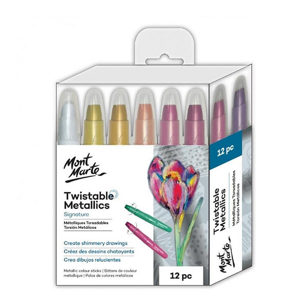 Metallic Twistable Colours