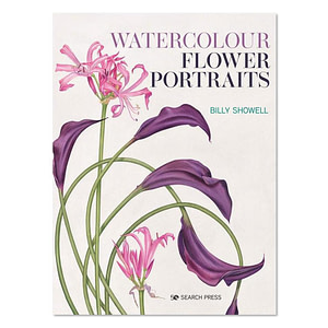 Watercolour Flower Portraits Book by Billy Showell