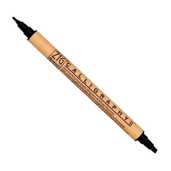 Calligraphy II Pigment Ink Dual Tip Pen