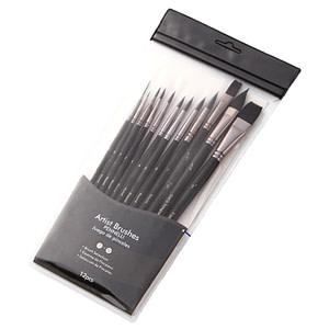 Watercolour Brush Set 12pc Pennelli