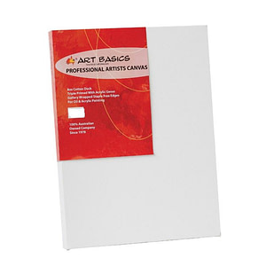 "Art Basics Professional Artists Canvas 25.4cm x 25.4cm / 10"" Square"