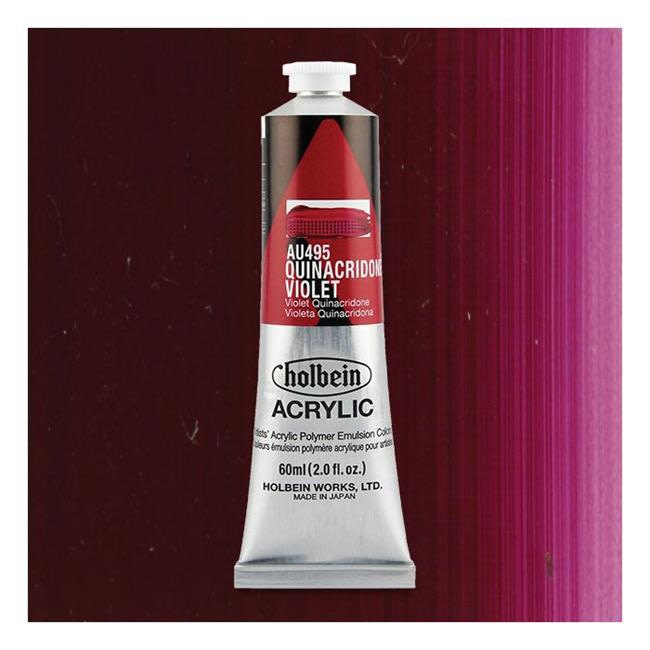 Holbein Acrylic Quinacridone Violet