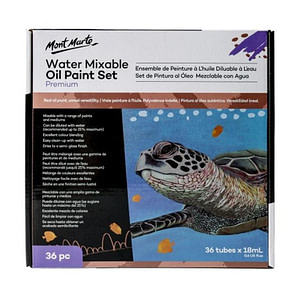 Water Mixable Oil Paint Set 36