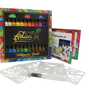 Articci Watercolour Paint Set